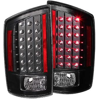 Anzo USA 311123 Dodge Ram Black LED Tail Light Assembly - (Sold in Pairs)