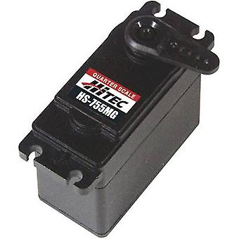 Hitec egendefinert servoer HS - 755MG analog servo utstyr for materiale: metall kontaktsystem: JR