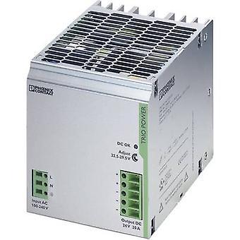 Phoenix Contact TRIO-PS/1AC/24DC/20 Rail mounted PSU (DIN) 24 V DC 20 A 480 W 1 x