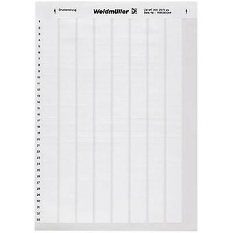 Weidmüller 1695721044 LM WRITE ON 23X55 WS Cable identifier LaserMark 12.7 x 23 mm Label colour: White No. of labels: 40