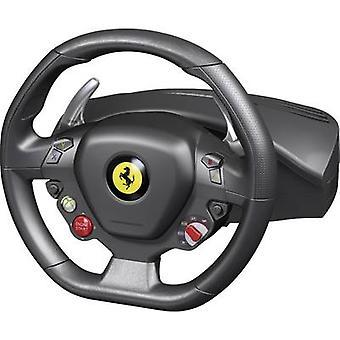 Rueda de Thrustmaster Ferrari 458 Italia Racing volante USB PC, Xbox 360 negro incluye pedales