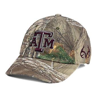 Texas A&M Aggies NCAA TOW Real Tree Camo Stretch Fitted Hat