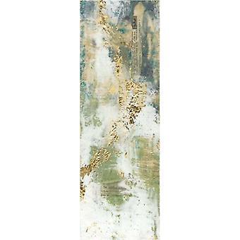 Aural Flow jeg Poster trykk av Jennifer Goldberger (14 x 38)