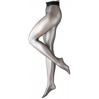 Falke Shelina 12 Denier Ultra-Transparent Shimmer Tights - Black