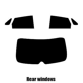 Pré corte matiz de janela - Suzuki Baleno 5 portas Hatchback - 2017 e mais recentes - traseira windows