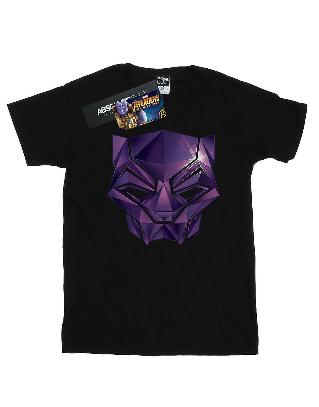 Marvel Women's Avengers Infinity War Black Panther Geometric Boyfriend Fit T-Shirt
