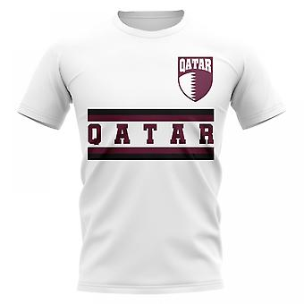 Qatar Core fotball land T-Shirt (hvit)