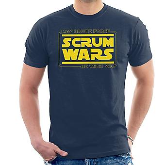 Star Wars Scrum Wars Brute kracht Logo T-Shirt voor mannen