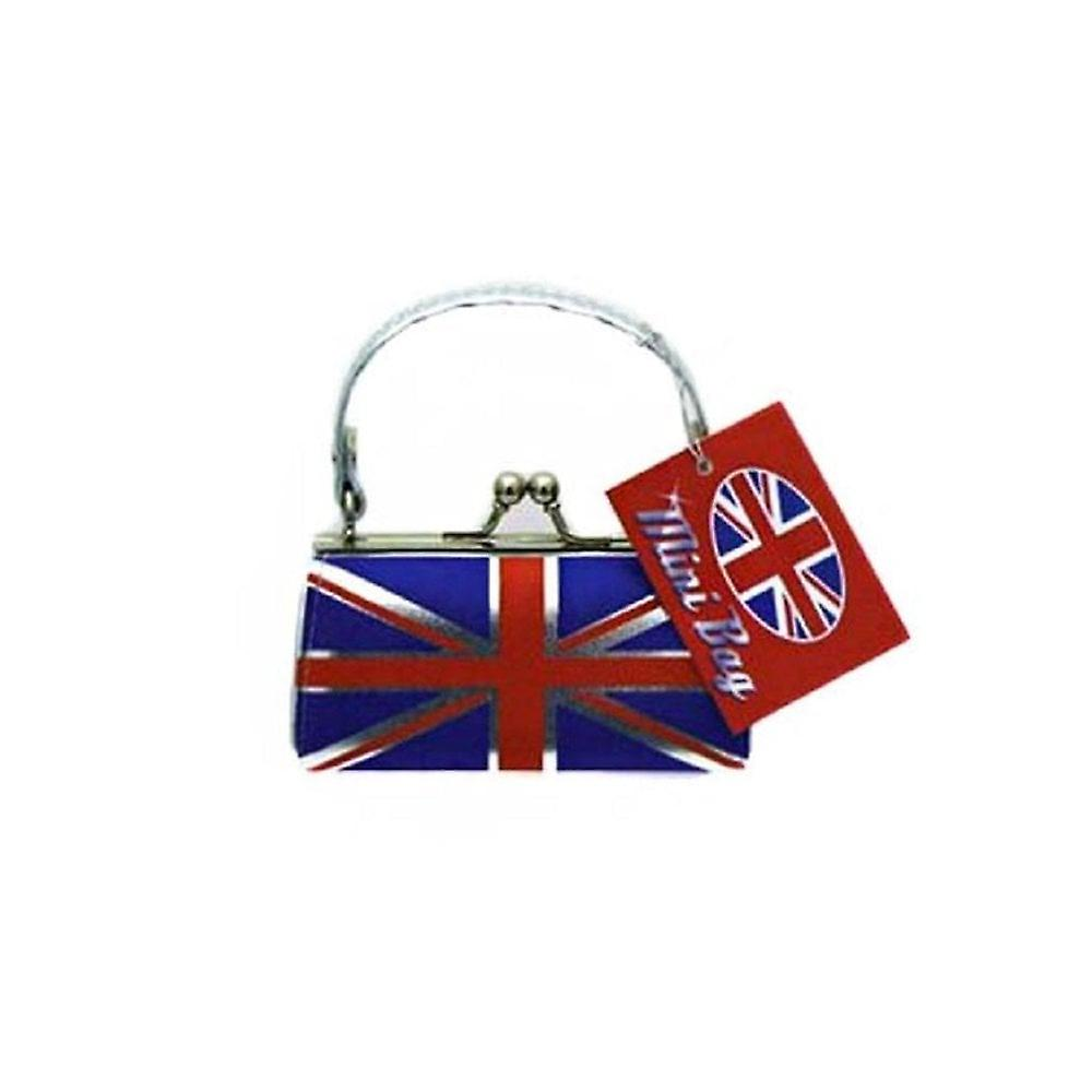 Union Jack Wear Mini Leather Look Union Jack Handbag