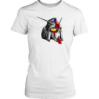 Gundam Manga Robot damer T Shirt