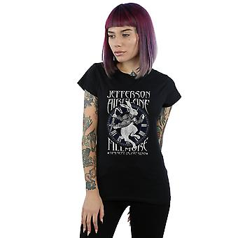 Jefferson Airplane kvinnors Fillmore kanin T-Shirt