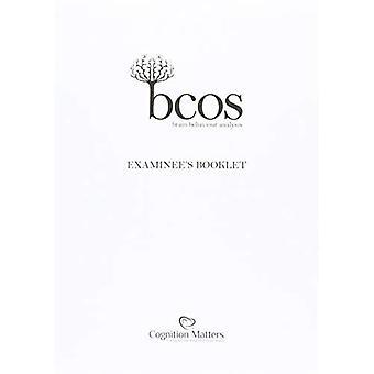 BCoS conoscitivo schermo: Libretto di candidato (confezione da 15)