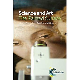 Tiedettä ja taidetta: maalattu pinta