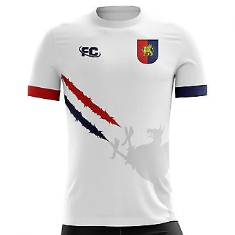 2018-2019 Genoa Fans Culture Away Concept Shirt