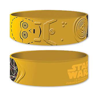 Star Wars – silikonový náramek C-3PO