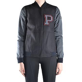 Peuterey Ezbc017086 Women's Grey Wool Outerwear Jacket