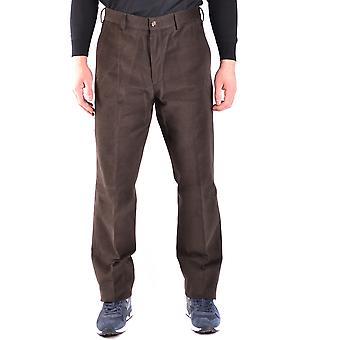 Paul & Shark Ezbc042062 Men's Brown Cotton Pants
