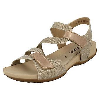 Senhoras Remonte Flat sandálias R3259