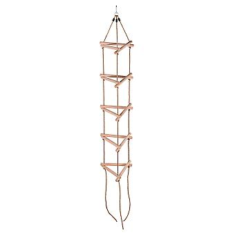 Kids 3D Triangle Rope Ladder | Kinderen Boom klimrek, Swing Set | 5 Sporten