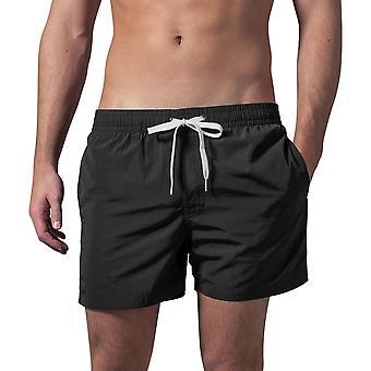 Cotton Addict Mens Elasticated Quick Dry Beach Swim Shorts