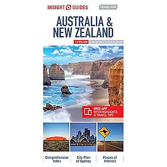 Insight Guides Travel Map Australia & New Zealand by Insight Guid