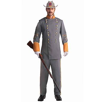 Officier soldat American Civil War Union Colonial Olden Day Men Costume Plus