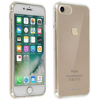 Back case + Screen Protector Tempered Glass Clear Apple iPhone 7/8 - 4smarts