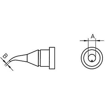 Weller LT-1X soldeer Tip rond, gebogen Tip maat 0,4 mm inhoud 1 PC (s)