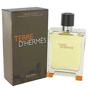Terre D' Hermes av Hermes Eau de Toilette Spray 6,7 oz (herrar) V728-482920