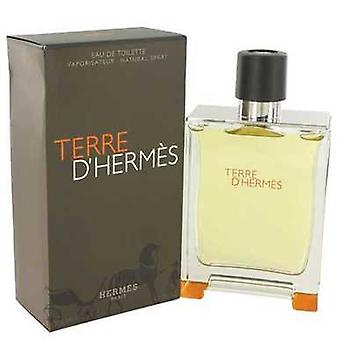 Terre D'hermes door Hermes Eau de Toilette Spray 6,7 oz (mannen) V728-482920