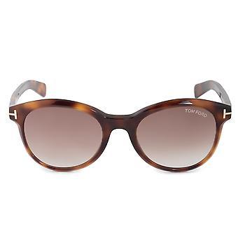 Tom Ford Riley FT0298 52F 51 ovala sol glasögon
