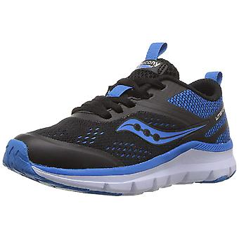Kids Saucony Boys Liteform Miles Fabric Hight Top Lace Up Walking Shoes