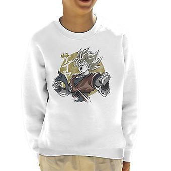 Goku Gold Dragon Ball Z Kid's Sweatshirt