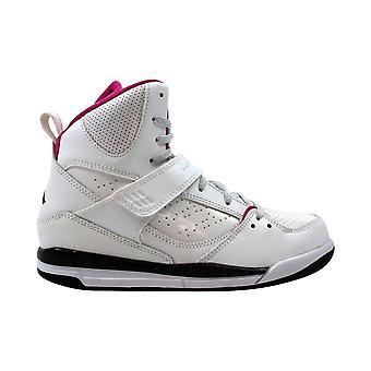 Nike Air Jordan Flight 45 High PS White/Black-Fusion Pink 524863-128 Pre-School