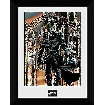 Encadré de Batman Arkham Asylum Collector impression 40x30cm