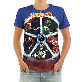 Born2rock - marillion - reel to real - t-shirt