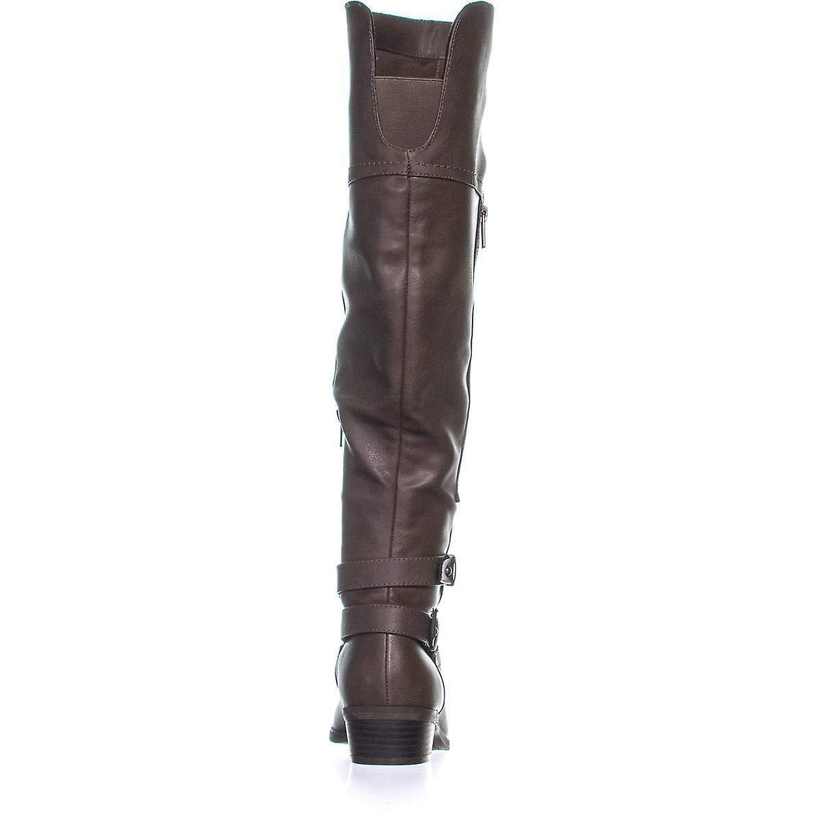 Rd. Indigo Womens Custom2 Amande Toe Au-dessus Du Genou Bottes De Mode