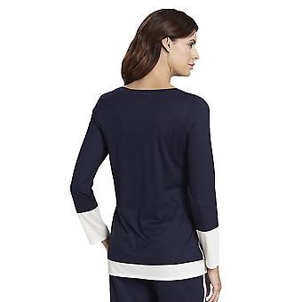 Rosch 1193752-11436 Donne's Puro Denim Blu Pijama Top