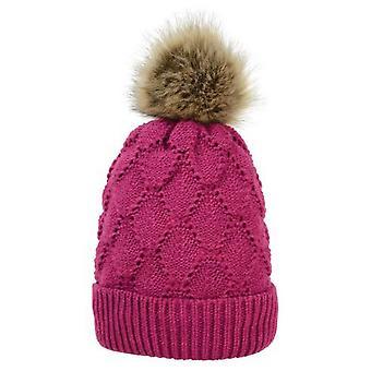 HyFASHION Womens/Ladies Saskatoon Knitted Bobble Hat