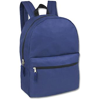 Blue Classic 2 Pocket Backpack