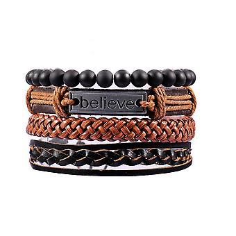 Bracelet Sets-4 parts-Believe