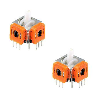 Compatible internal 3d analog thumbstick modules for nintendo gamecube gc - 2 pack