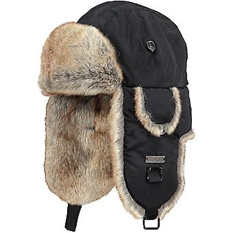 Barts Womens Kamikaze Silky Soft Faux Fur Lined Trapper Hat