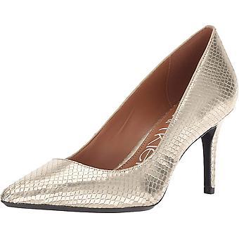 Calvin Klein Womens Gayle Fabric Pointed Toe Classic Pumps