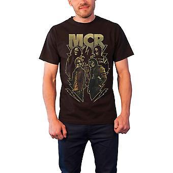 My Chemical Romance Appetite For Danger Officiel Homme Nouveau T Shirt Noir