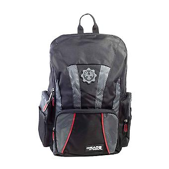 Gears Of War Backpack Kait Inspired Built Metal Badge Logo new Official Blacck