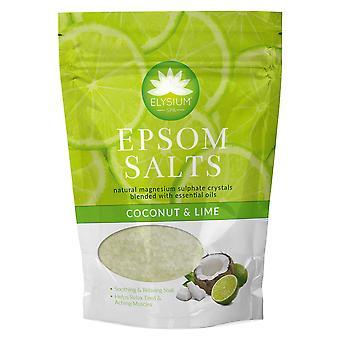 Elysium Spa Badesalze - Kokos nussige und Limetten