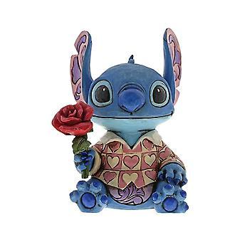 Disney Traditions Stitch 'Clueless Casanova' Figurine