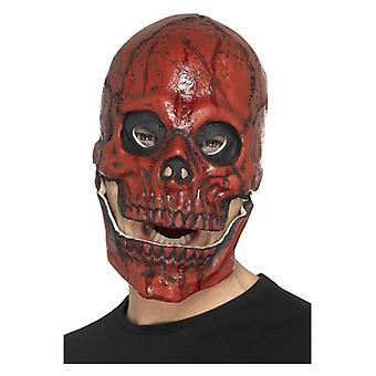 Ανδρική λατέξ μάσκα αίματος αφρός κρανίο Απόκριες φανταχτερό φόρεμα αξεσουάρ