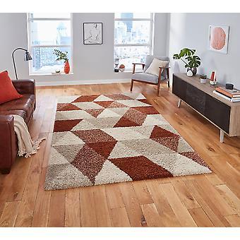 Royal Nomadic 7611 Beige Rust Rechteck Teppiche Plain/Fast einfache Teppiche